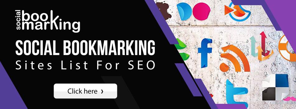 Social Bookmarking Sites list 2021